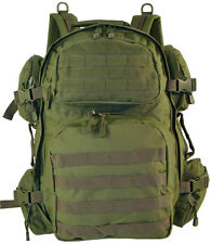 Tactical Assault Backpack, Tactical Military Molle Backpack OD (Olive Drab