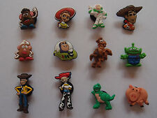6 x TOY STORY SHOE CHARM PARTY FAVOR CAKE DECORATION SCRAPBOOKING