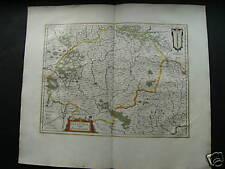 Wertvolle Karte von Franken, Bayern um 1650 sehr schön REDUZIERT
