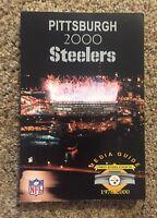 2000 Season  Pittsburgh Steelers  NFL Football Media Guide Three Rivers Stadium