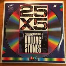 THE ROLLING STONES - 25 X 5 - CONTINUING ADVENTURES 0F (2 X LASER DISC SET) MINT