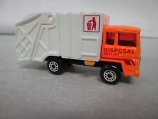 Matchbox Refuse Truck Disposal Unit 24 MB36 with box