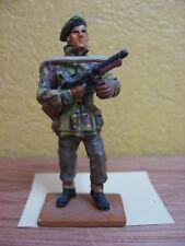 FIGURINE DEL PRADO SOLDAT SERGENT COMMANDO BRITANNIQUE 1944-45 UK WWII