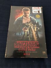 STRANGER THINGS SEASON 1 DVD BLU-RAY 4 DISC TARGET LIMITED EDITION + POSTER SET