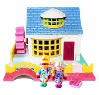 Vintage Polly Pocket Grandma's Cottage ~ COMPLETE ~ 1994 Bluebird Toys