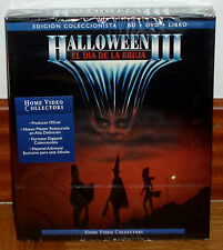 HALLOWEEN III EDICION COLECCIONISTA DIGIPACK BLU-RAY+DVD+LIBRO NUEVO (SIN ABRIR)