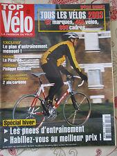 TOP VELO N°70: JANVIER 2003: TOUS LES VELOS 2003 - PHILIPPE GAUMONT - CINELLI