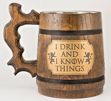 I drink and I know things Game of Thrones Mug Tyrion Lannister inspired Gift