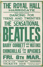 "Beatles Harrogate 16"" x 12"" Photo Repro Concert Poster"