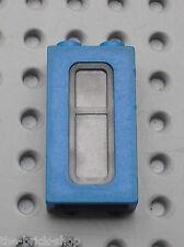 Fenetre bleue LEGO TRAIN Blue window ref 4035 / Set 4534 7710 6694