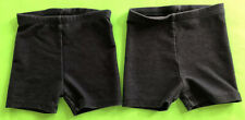 Set Of 2 Pair Stretch 'Jumping Beans' Denim-Look Shorts Sz 24 Months