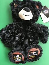 "Build a Bear 16"" Super Bowl 50 Champion Denver Broncos Plush Bear -Unstuffed-New"