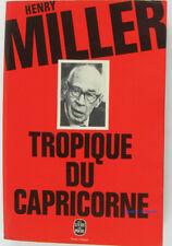 Tropique du Capricorne Henry Miller 1977