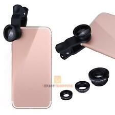 VODOOL 3 in1 180°Fish-Eye+Wide Angle+Macro Camera Clip-on Lens For iphone 7 Plus