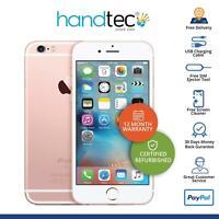 Apple iPhone 6S 32GB Sim Free Unlocked iOS Smartphone Rose Gold - Pristine A+
