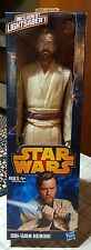"NEW Star Wars Obi-Wan Kenobi 12"" Action Figure Includes Lightsaber"
