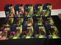 NIB Lot of 15 Star Wars Power of the Force Action Figures 1995 1996 1997 1998