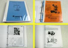 Kalmar Irion DFQ TFQ 30B Quergabelstapler Kundendienst Handbuch + Anleitung FBA