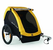 Burley Bee remolque para niños modelo 2016 remolque de bicicleta 2 niños amarillo nuevo embalaje original