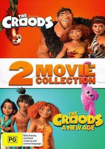 The Croods + The Croods - A New Age 2 Movie Collection BRAND NEW Region 4 DVD