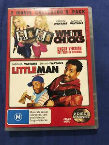 White Chicks/Little Man - DVD - Region 4 - Free Postage - Aussie Seller