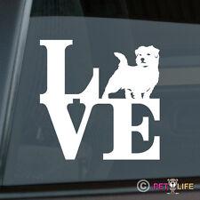 Love Norfolk Terrier Sticker Die Cut Vinyl - park