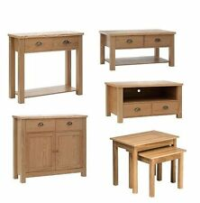 Oak Kitchen & Dining Tables with Drawers