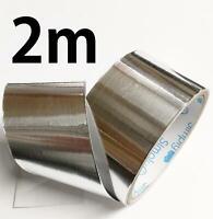 Aluminium Foil Tape 5cm x 2m Length High Temperature Resistant Hydro Ducting