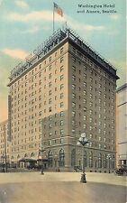 Seattle, WA Washington Hotel and Annex  postcard  unposted