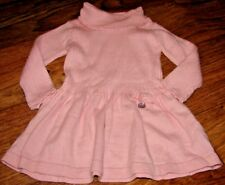 MAYORAL CHIC BABY GIRL SIZE 12 MONTHS GORGEOUS PINK ANGORA SWEATER DRESS