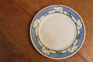 Saturday evening girls Rabbit plate