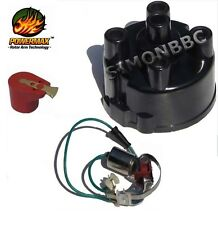 Distributor cap points & condenser & red rotor arm for lucas 43D4 45D4