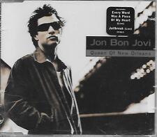 JON BON JOVI - Queen of New orleans CD SINGLE 4TR Europe 1997 (STICKERED CASE)