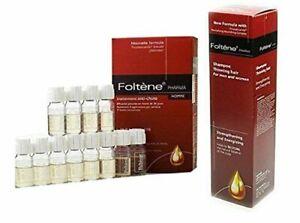 Foltene Shampoo for Men & Pharma European Revitlizing Treatment for Thinning Hai