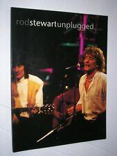 Rod Stewart- Unplugged, Song Book 1993 Guitar TAB, lyrics, photos 71 pg VG+