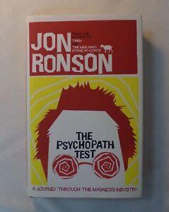 The Psychopath Test. By Jon Ronson. Hardback Book.