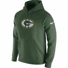 Nike NFL Green Bay Packers Logo Men's Pullover Hoodie w/ Drawstrings 2XL