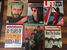 Lot of 6 Beatles Magazine