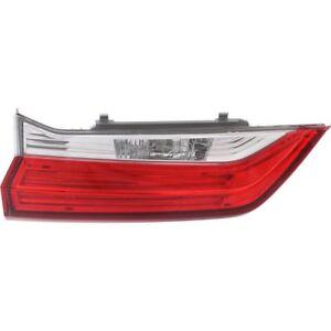 fits HONDA CRV CR-V 2018 LEFT DRIVER INNER TAIL LIGHT TAILLIGHT REAR LAMP TRUNK