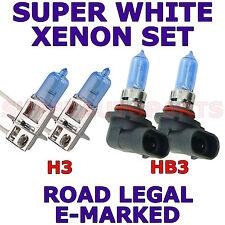 Alfa Romeo HID 166 ab 1998 Satz HB3 H3 Xenon Super weiß Glühbirnen