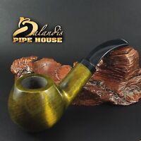 "BALANDIS ORIGINAL Handmade PEAR WOOD Tobacco SMOKING PIPE ""SPARROW"" SMOOTH TOPAZ"