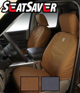 Covercraft Custom SeatSavers Carhartt Duckweave Front & 2nd Row -2 Color Options