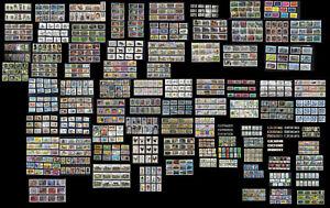1 EUR la série complète de timbres oblitérés adhésifs de 2010 à 2021