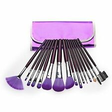 New 16Pcs Professional Cosmetic Makeup Eye Shadow Powder Brush Set with case Bag