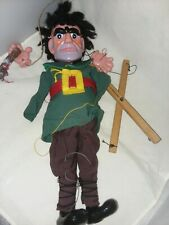 Pelham Puppet Wooden Toy Marionette Vintage 1960's Giant England Needs Restrung
