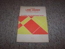 1975 Toyota Land Cruiser FJ55 FJ55L Air Conditioning Shop Service Repair Manual