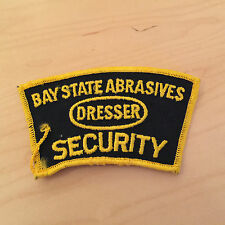 bay state abrasives,dresser security patch,60's,new old stock,  set of 2