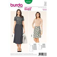 Burda Style Super Easy SEWING PATTERN 6733 Misses Wrap Skirt 10-20