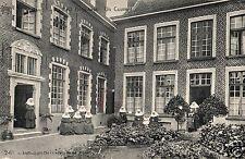 3964/ Foto AK, Gent, Kloster, Nonnen, Stempel Militärpolizei Gent, 1915