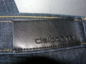 """NEW Big Men's Claiborne Dark Denim Jeans 50"""" X 32"""" 100% Cotton"""
